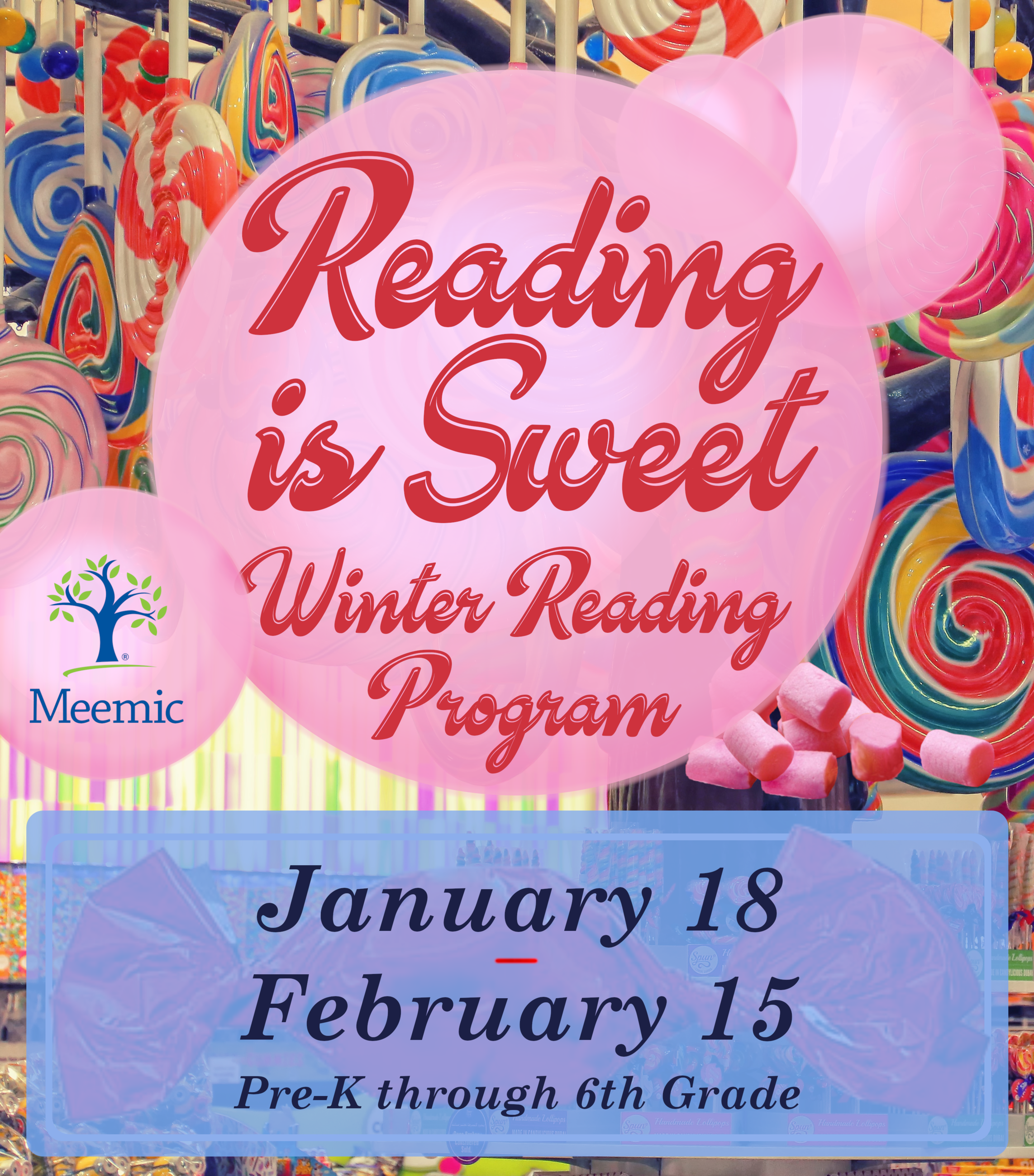 Winter Reading Program - January 18 to February 15