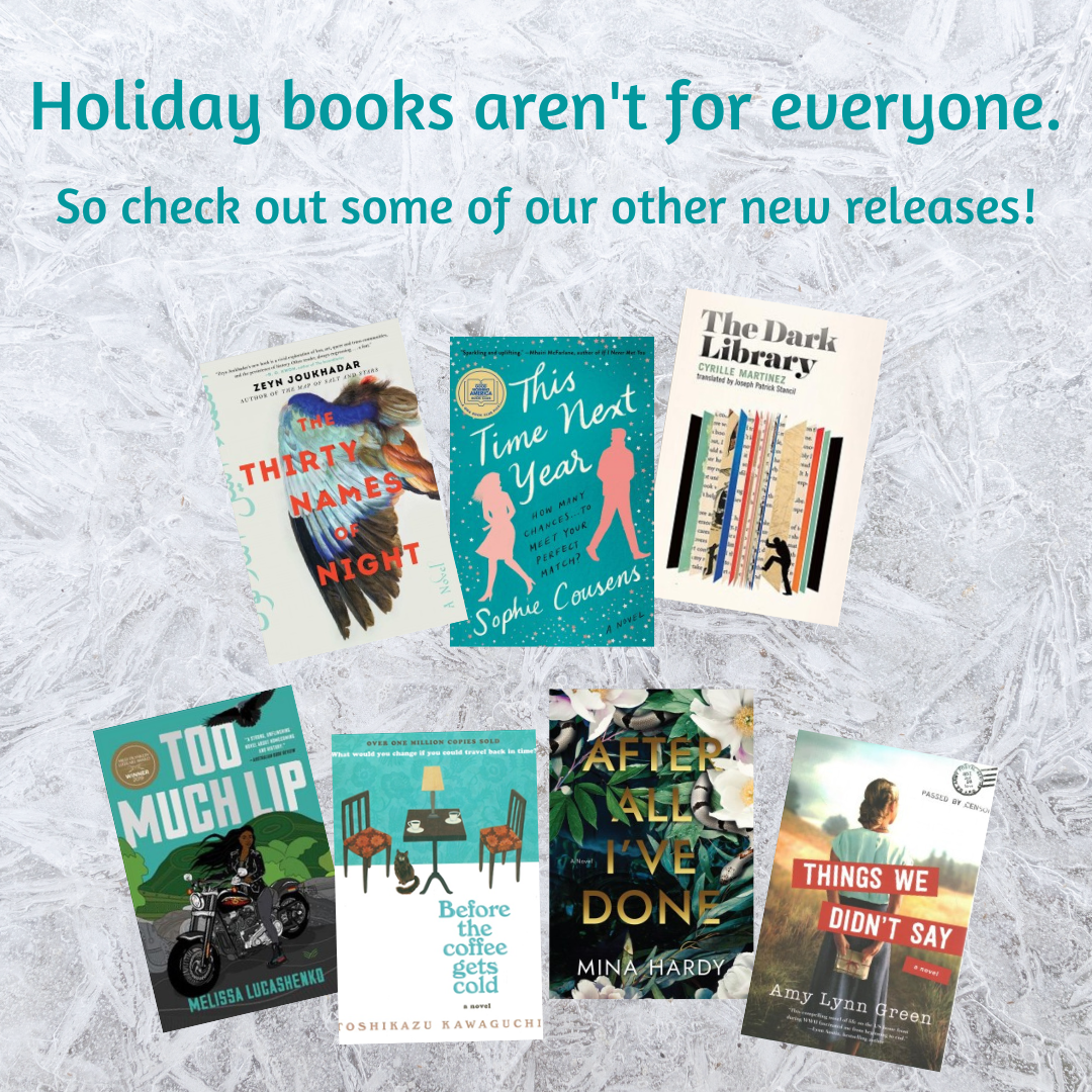 Holiday books aren't for everyone - Un-Holiday Recs